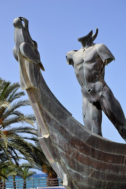 Monumento del paseo de Almuñecar